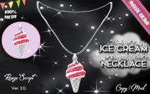 * {.:Little Stars.:} * Ice Cream TD MESH Necklace