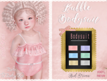 * {.:Little Stars.:} * Ruffle Bodysuit - FATPACK (non-fitted TD & Bebe)
