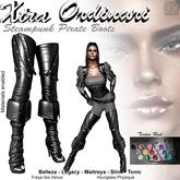 *XO* Steampunk-Pirate Boots