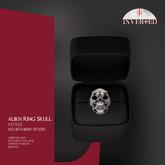 +INVERTED+ Alien Ring Skull -Bone-