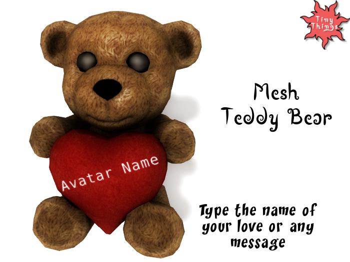 :Tiny Things: Valentine Teddy Bear