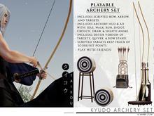 taikou / kyudo archery set (interactive)