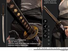 taikou / katana (interactive)