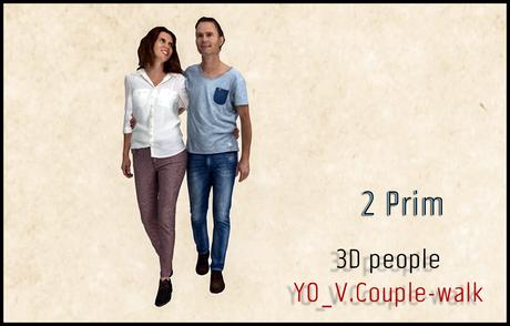 MESH PEOPLE - YO_V.Couple-walk