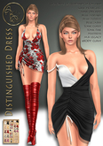 ***ArisArisB&W~Distinguished Dress- Custom HUD