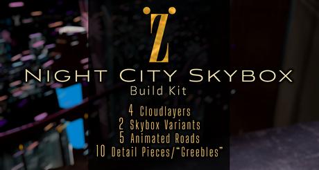 [inZoxi] - Night City Skybox Full Buildkit