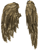 RIOT / Cupid's Wings - Metallic - Gold