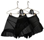 SPIRIT - Elza shorts [BLACK]