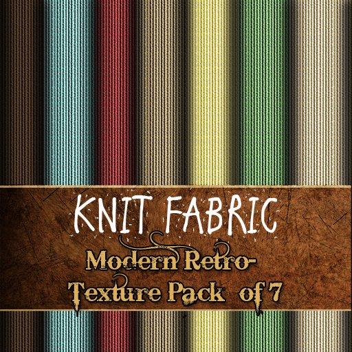 Knit-fabric Texture Pack - Modern Retro