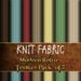 Knit fabric modern retro preview