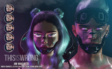 THIS IS WRONG Jaw shine+tattoo 3D - unisex pack
