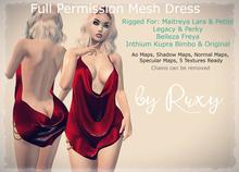 Ruxy-Full Permission Mesh Dress Peny