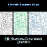 *LR* Glass Block Freebie Set
