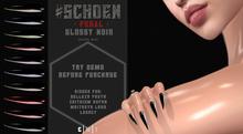 #SCHOEN - Feral - Glossy Noir