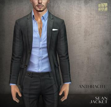 [Deadwool] Sean jacket - anthracite