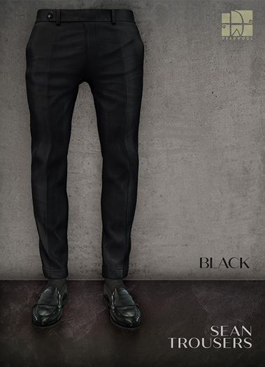 [Deadwool] Sean trousers - black