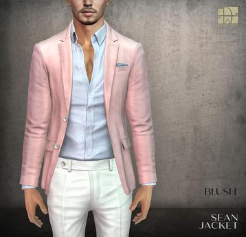 [Deadwool] Sean jacket - blush