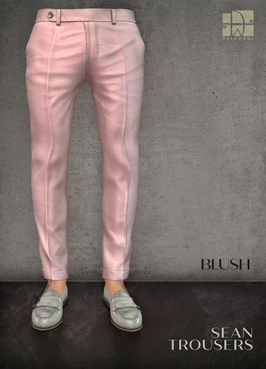 [Deadwool] Sean trousers - blush