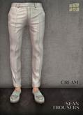 [Deadwool] Sean trousers - cream