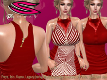 ::Smexy:: Africa Dress RED