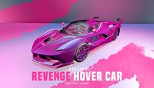 HEXAGON hover car - Revenge PINK