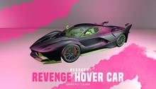HEXAGON hover car - Revenge BLACK