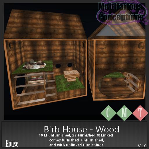 [MC] Birb House - wood  [add me]