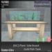 [MC] [MC] Plank Sideboard Goldfish Tank [add me]