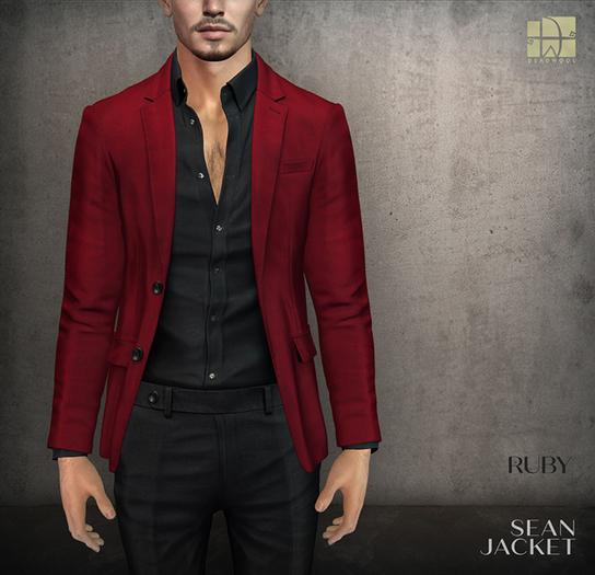 [Deadwool] Sean jacket - ruby