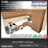 [MC] Dinky Kitchen Decorated 2 17LI  [add me]
