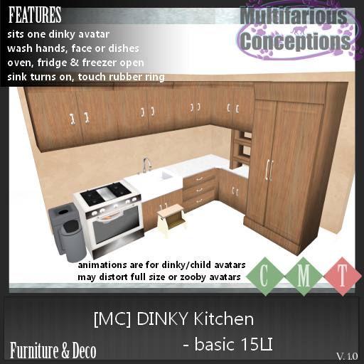 [MC] Dinky Kitchen Basic 15LI [add me]