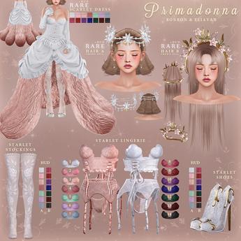 (DEMO) bonbon & eliavah - primadonna (maitreya, petite, legacy, perky, freya, hourglass)