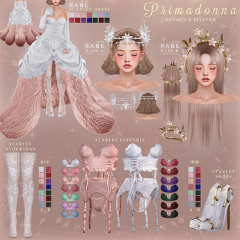 bonbon & eliavah - primadonna (maitreya, petite, legacy, perky, freya, hourglass (READ DESCRIPTION)