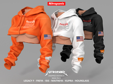 NitroPanic_Cropped Hoodie R NASA 3PACK