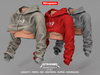NitroPanic_Cropped Hoodie R GT 3PACK