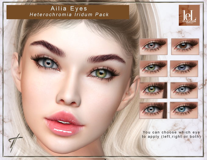 Tville -  Ailia Eyes for  [Lelutka] * HI pack*