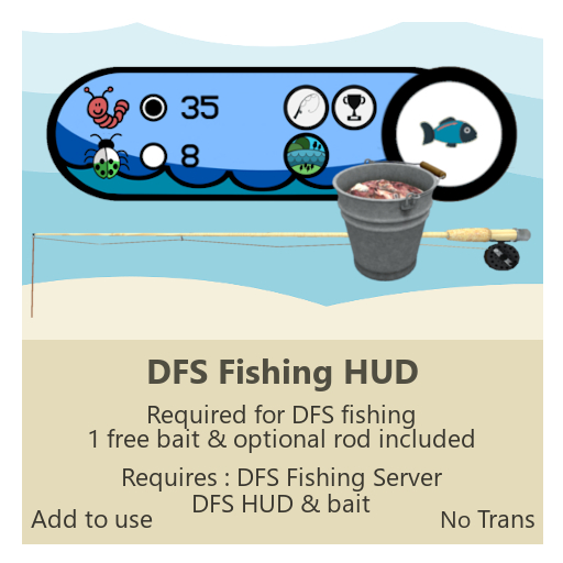 DFS Fishing Hud