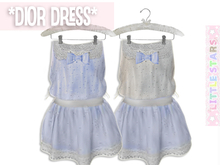 * {.:Little Stars.:} * Dior Dress - Purple (non-fitted) TD & Bebe
