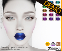 Zibska ~ Galaway Lips Demo [omega applier/tattoo/universal tattoo BOM]