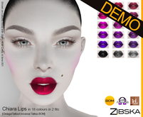 Zibska ~ Chiara Lips Demo [omega applier/tattoo/universal tattoo BOM]
