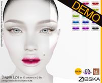 Zibska ~ Dagon Lips Demo [omega applier/tattoo/universal tattoo BOM]