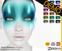 Zibska ~ Arion Makeup Demo [Omega applier, tattoo & universal tattoo BOM]
