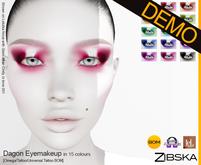 Zibska ~ Dagon Eyemakeup Demo [Omega applier, tattoo & universal tattoo BOM]