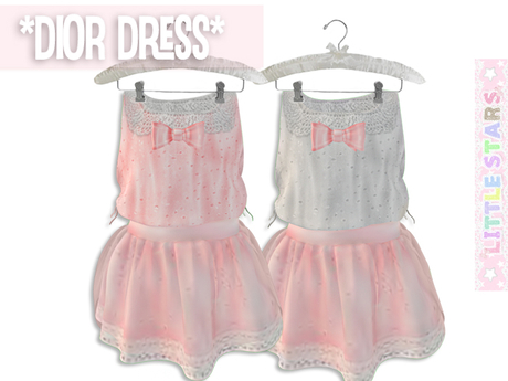 * {.:Little Stars.:} * Dior Dress - Blush (non-fitted) TD & Bebe