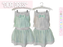 * {.:Little Stars.:} * Dior Dress - Mint (non-fitted) TD & Bebe