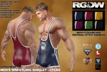 RGDW - Wrestling Singlet with HUD - Lycra
