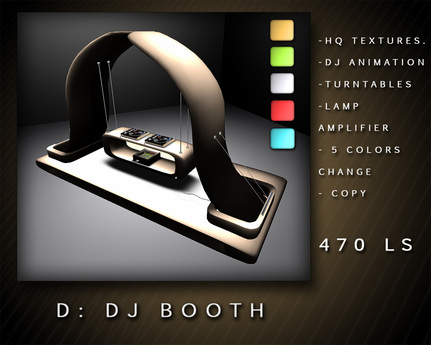 D: DJ BOOTH BOXED