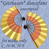 *GEISHASAN* DANCEFANS 3 (MAIKO) V1.0