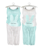 * {.:Little Stars.:} * Sleepy Bunny * Mint (non-fitted TD Baby & Bebe)