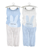 * {.:Little Stars.:} * Sleepy Bunny * Blue (non-fitted TD Baby & Bebe)